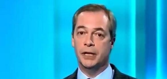 UKIP leader, Nigel Farage