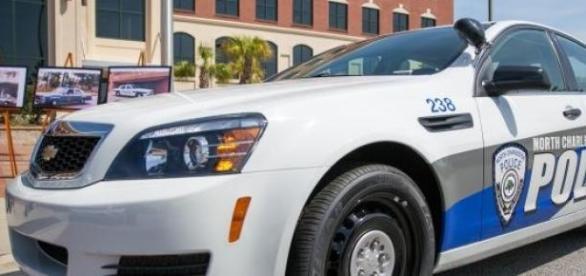 Voiture de la police de North Charleston