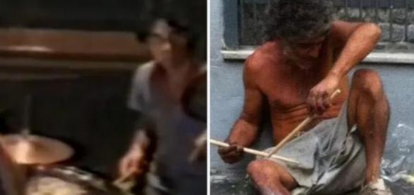 Ex baterista de Tim Maia vira morador de rua
