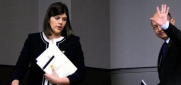 Laura Codruta Kovesi impreuna cu actualul acuzator