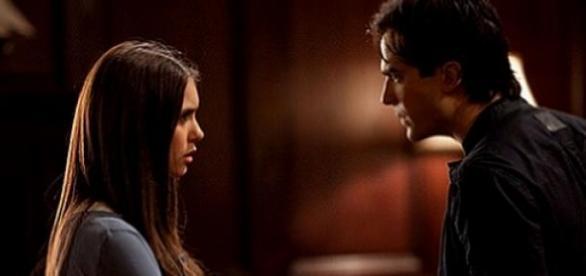 Vampire Diaries: Ian Somerhalder und Nina Dobrev.