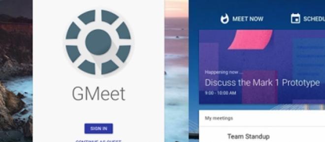 GMeet (Google Meeting): Plataforma