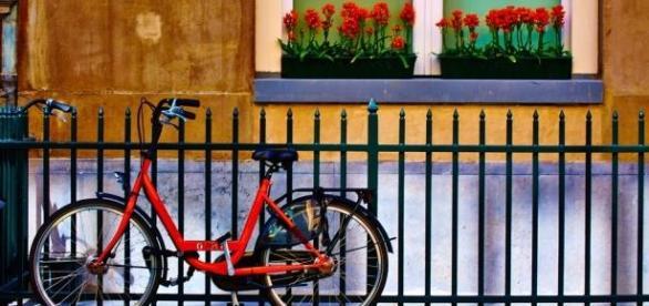 A bicicleta é o meio de transporte oficial do país