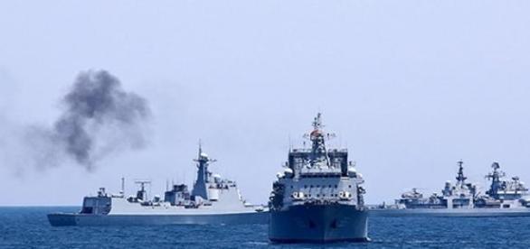 Exercitii militare Rusia-China in Mediterana