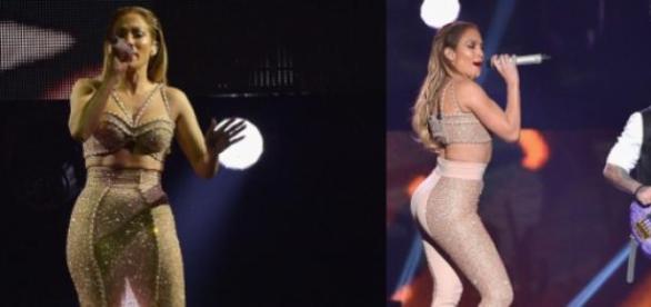 Jennifer Lopez encantou na homenagem a Selena