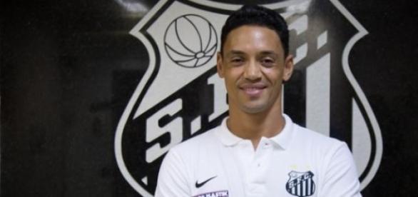 Ricardo Oliveira: no Santos até 2017