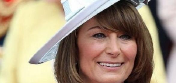 Carole Middleton,  mãe da duquesa de Cambridge