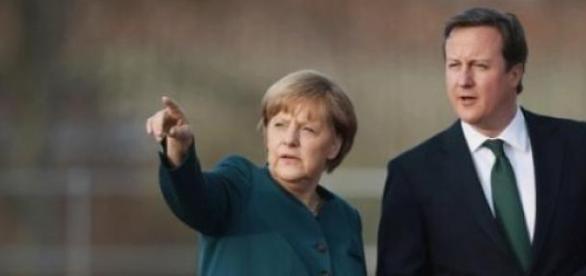 Czy kanclerz Niemiec wpłynie na politykę Camerona?