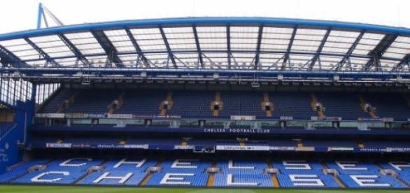 The Chelsea football stadium