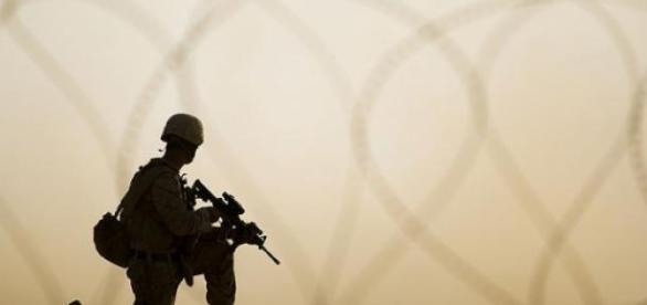 Un militaire américain en Syrie CCommons / USMC