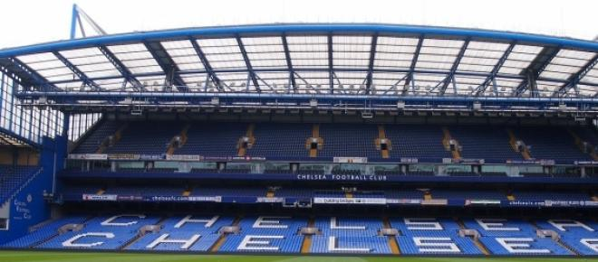 The Chelsea football stadium
