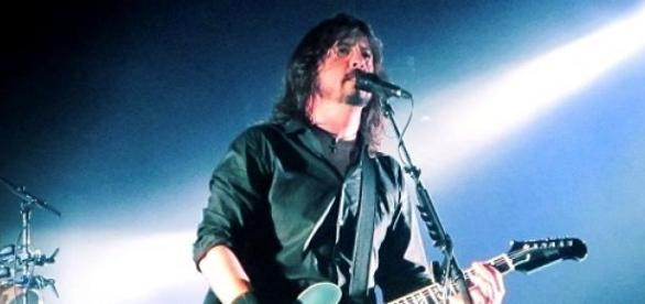 Dave Grohl es el cantante y líder de Foo Fighters