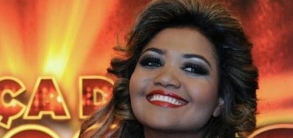 Gaby Amarantos mostra parte íntima na TV