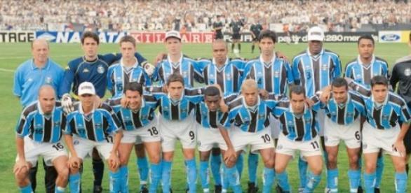 Grêmio foi campeão da Copa do Brasil de 2001