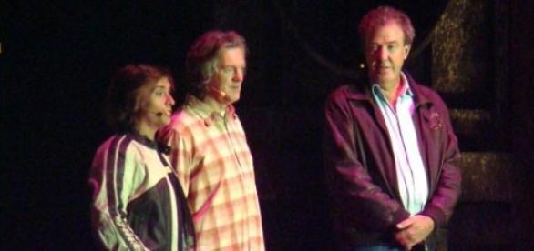 Gwiazdy Top Gear - May, Hammond i Clarkson