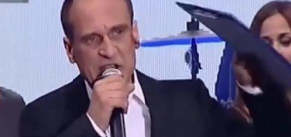 Kadr z przemówienia Kukiza, Polsat News