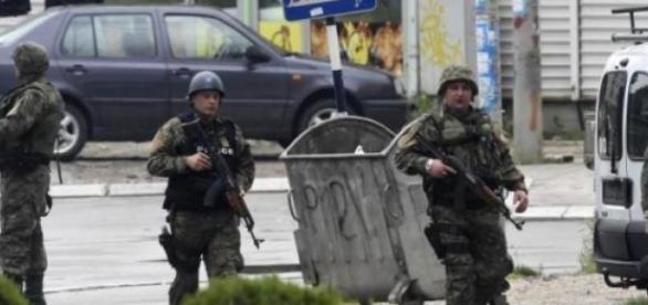 Lupte armate in nordul Macedoniei