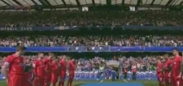 Así recibió Liverpool a Chelsea, ayer en Londres