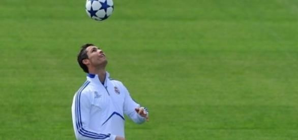 Ronaldo, la star du Real Madrid.