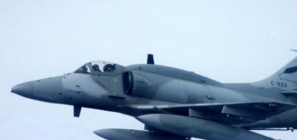 A4ar Figgting Hawk de la FAA