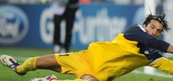 Buffon est un myhte à la Juventus.