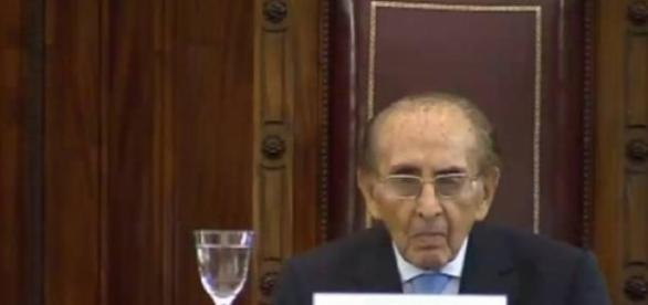 El Juez Carlos Fayt, en ejercicio a los 97 años