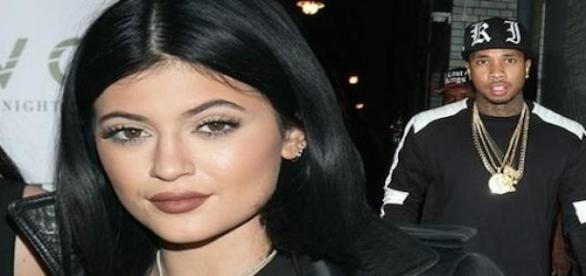 Kylie Jenner et son petit ami Tyga.