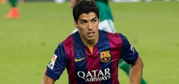 Luis Suarez was influential against Bayern
