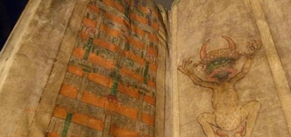 Manuscrisul Biblia Diavolului din Evul Mediu