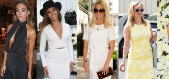 Nicole, Beyoncé, Sarah, Reese e Kate Beckinsale