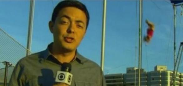 Polícia americana interrompe link da Globo