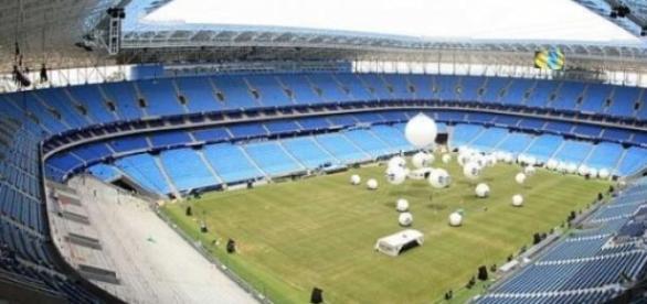 Arena do grêmio - estádio inaugurado em 08/12/2012