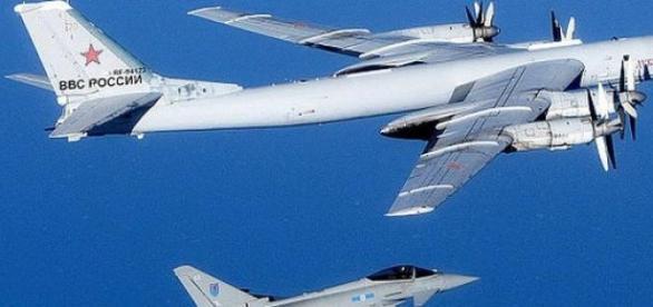 Avioane rusesti interceptate in Marea Britanie