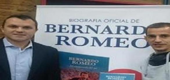 Bernardo Romeo junto a Leandro Romagnoli