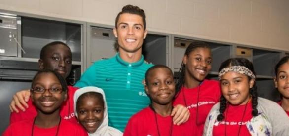 Cristiano Ronaldo, ambasador Save the Children