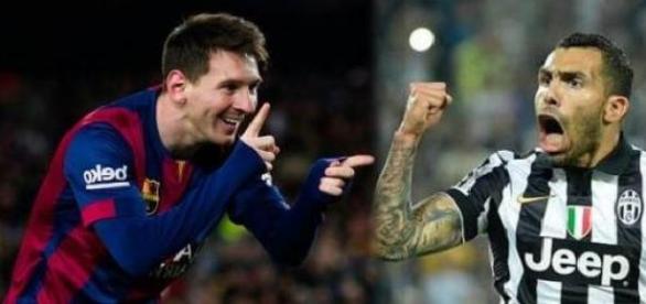 El gran duelo: Tévez vs. Messi