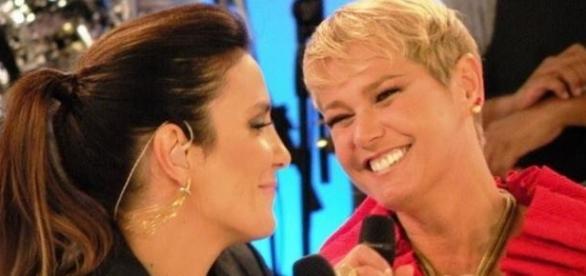 Ivete menciona Xuxa em programa da Globo