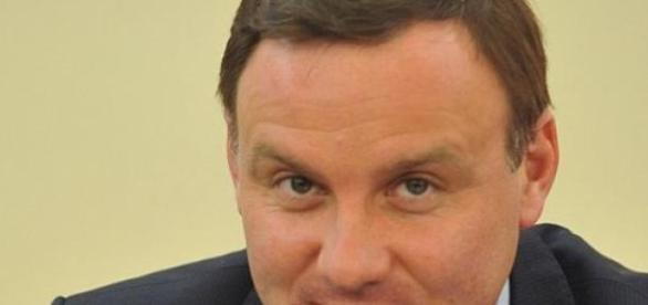 Kandydat na prezydenta RP Andrzej Duda