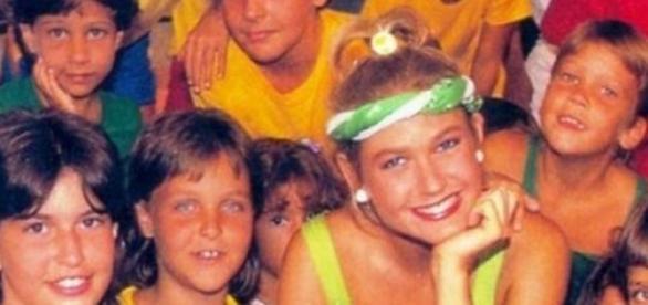 Xuxa na extinta TV Manchete
