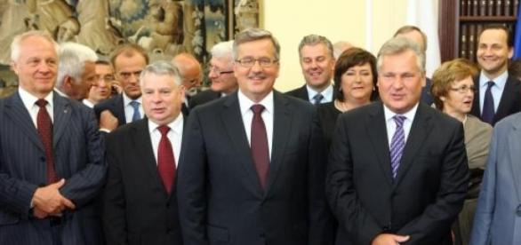 Zaprzysiężenie Komorowskiego w Senacie