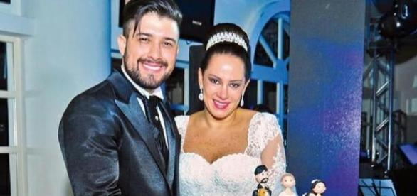 Filha de Silvio Santo faz barraco por marido