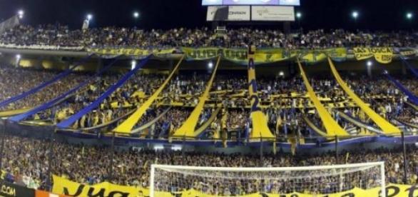 Foto tomada del Estadio de Boca Juniors