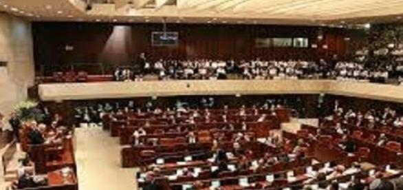 La Knesset, sede del Parlamento israeliano.