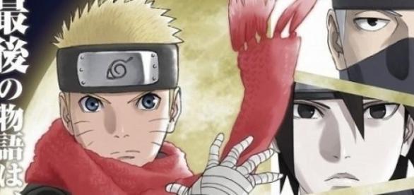 Nuevo diseño de Naruto con una bufanda roja