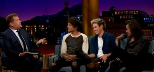 One Direction no Late Late Show com James Corden