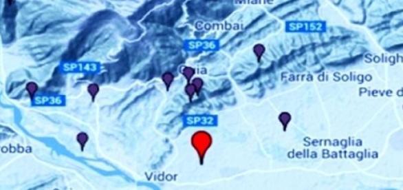 Seism în nord-estul Italiei, cu acelaşi epicentru