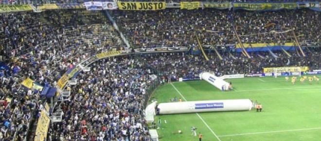 Las mangas son parte del paisaje de los estadios