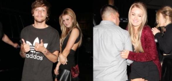 Louis com Briana (clique para ver mais fotos)