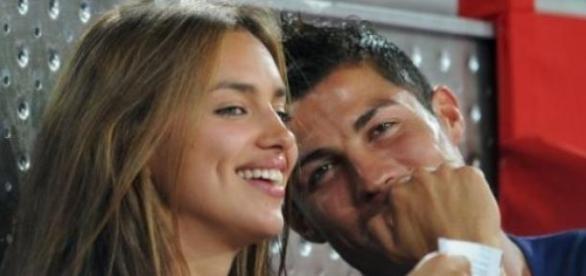 Irina Shayk e Cristiano quando era só amor...