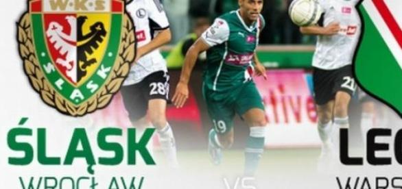 Śląsk Wrocław - Legia Warszawa: mecz Ekstraklasy
